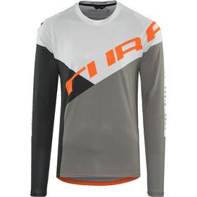 Cube Edge maglietta a maniche lunghe Uomo grigio